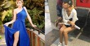 Faslı mankenin İstanbul kabusu!.. Taksiciden darp ve taciz