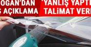 Erdoğan: Cam Filminde Yanlış Yaptılar, Düzeltilmesi İçin Talimat Verdim