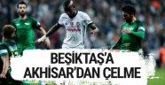 Beşiktaş-Akhisar maçı 0 0 bitti