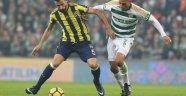 Bursaspor-Fenerbahçe maçı 0-1 kazandı