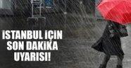 İstanbul için önemli uyarı! Fırtına ve kuvvetli rüzgara dikkat..