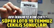 Süper Loto da 27 milyonu kazandıran rakamlar açıklandı