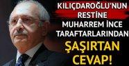 Kemal Kılıçdaroğlu ve CHP Genel Merkezi'nin kurultay restine Muharrem İnce taraftarlarından şaşırtan cevap!