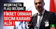 Beşiktaş'ta Olağanüstü seçime gidiliyor