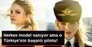 Kadın Pilotlar manken gibi