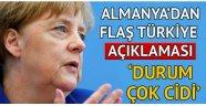 Almanya'dan flaş Türkiye açıklaması