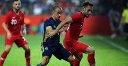 Türkiye,Bosna Hersek'le  0-0 berabere kaldı