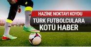 Türk futbolcuların dövizle sözleşme yasak