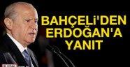 """Bahçeli'den Erdoğan'a """"uyuşturucu"""" yanıtı"""