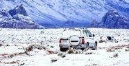 Suudi Arabistan'da Kasım ayında kar yağdı