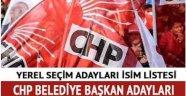 CHP'nin yerel seçimde aday göstereceği 140 aday belli oldu