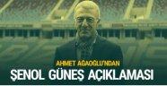 Ahmet Ağaoğlu Şenol Güneş iddialarını yalanladı