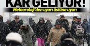 Meteoroloji'den kar uyarısı! İstanbul'a kar ne zaman yağacak?.