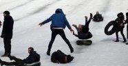 Rize'deki kar festivali kazalarla başladı: 25 yaralı