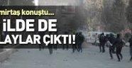 Demirtaş'ın mitingi sonrası Batman karıştı