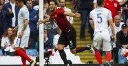 A Milli Takımımız İngiltere'ye 2-1 yenildi