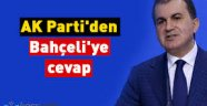 AK Parti'den Bahçeli'ye cevap