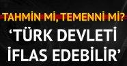 Almanlardan Türkiye-ABD krizi için ilginç yorum: Türk devleti iflas edebilir