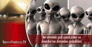 Amerika'nın dünyadan gizledikleri uzaylılar