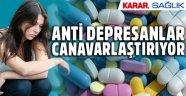 Antidepresan iyileştirmiyor tehlikeli insan yaratıyor