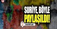 Arslan BULUT yazdı Suriye, böyle paylaşıldı!