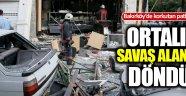 Bakırköy'de doğalgaz patlaması