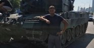 Beşiktaşlı futbolcu Duska Tosic'ten tank pozu!