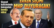 Bomba iddia: Erken seçim olacak ve bunu MHP lideri Bahçeli açıklayacak