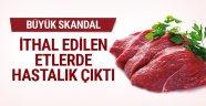 Bosna'dan ithal edilen etlerde hastalık çıktı