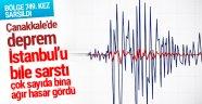 Çanakkale depremi İstanbul'u salladı