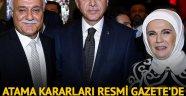 Cumhurbaşkanı Erdoğan 6 üniversiteye rektör atadı! Nihat Hatipoğlu rektör oldu