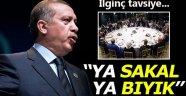 Cumhurbaşkanı Erdoğan'dan, gazetecilere sakal tavsiyesi