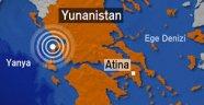 Deprem Yunanistan'ı da vurdu