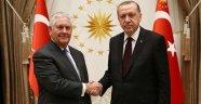 Erdoğan 3 saat 15 dakikalık kritik görüşmede Tillerson'a ne dedi?