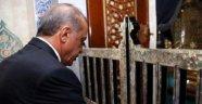 Erdoğan Eyüp Sultan'da Kur'an-ı Kerim okudu