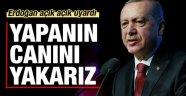 Erdoğan uyardı: Yapanın canını yakarız