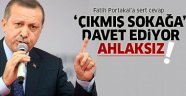 Erdoğan'dan Fatih Portakal'a: Ahlaksız
