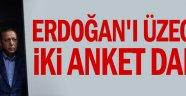Erdoğan'ı üzecek iki anket