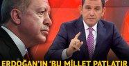 Erdoğan'ın 'Bu millet patlatır enseni' sözlerine Fatih Portakal'dan yanıt geldi