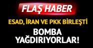 Esad, İran ve PKK birleşti! İdlib'e bomba yağıyor
