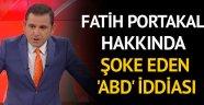 Fatih Portakal hakkında dikkat çeken 'ABD' iddiası