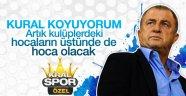 Fatih Terim'den sportif direktörlük devrimi