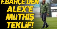 Fenerbahçe Başkanı Ali Koç'tan Alex de Souza'ya müthiş teklif!