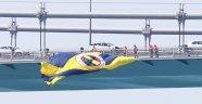 Fenerbahçe bayrakları köprülere asıldı