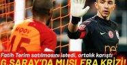 Galatasaray'da Muslera krizi! Fatih Terim satılmasını istiyor