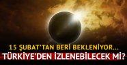 Güneş tutulması Bugün Türkiye izleyecek mi