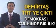 HDP'nin cumhurbaşkanı adayı Selahattin Demirtaş TRT'ye çıktı