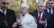İmam'dan camide Binali Yıldırım duası