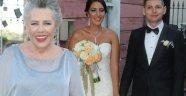 Işıl Yücesoy'un kızı Meneviş Cılızoğlu evlendi