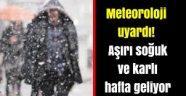 İstanbul donacak Aşırı soğuk ve karlı hafta geliyor!